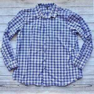 Plaid button up shirt